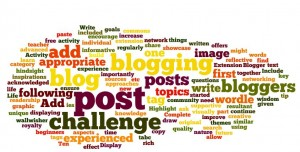 My post in a wordle
