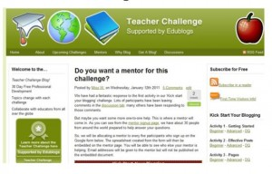 teacher challenge website