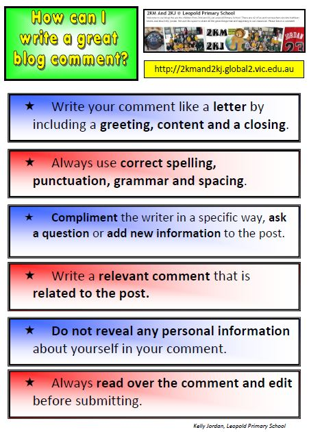 Commenting Poster 2011