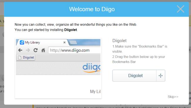 Install Diigolet