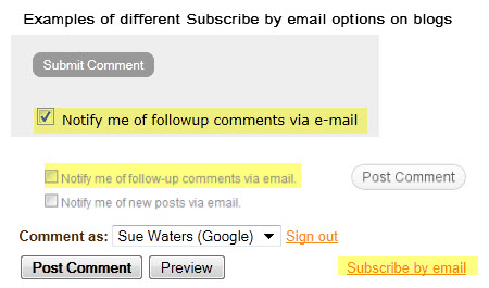 Subscribe to comments by email