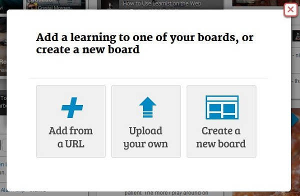 Create A Learning Or A Board.