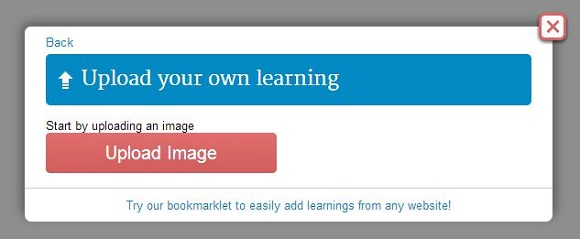 Add An Image To Your Learning.