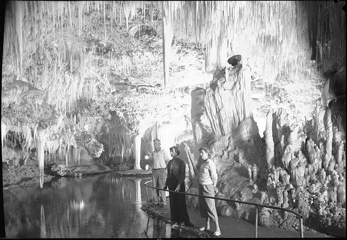 River Cave, Margaret River [Western Australia, 2] [Frank Hurley] Courtesy of the National Library of Australia