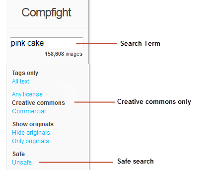 Searching Compfight