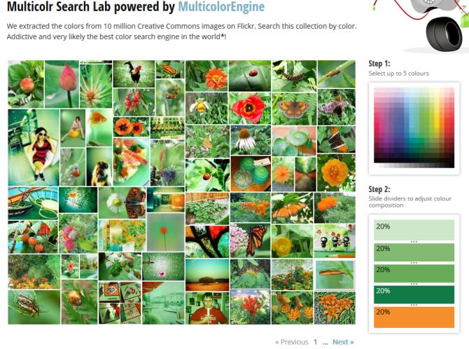 multicolor search