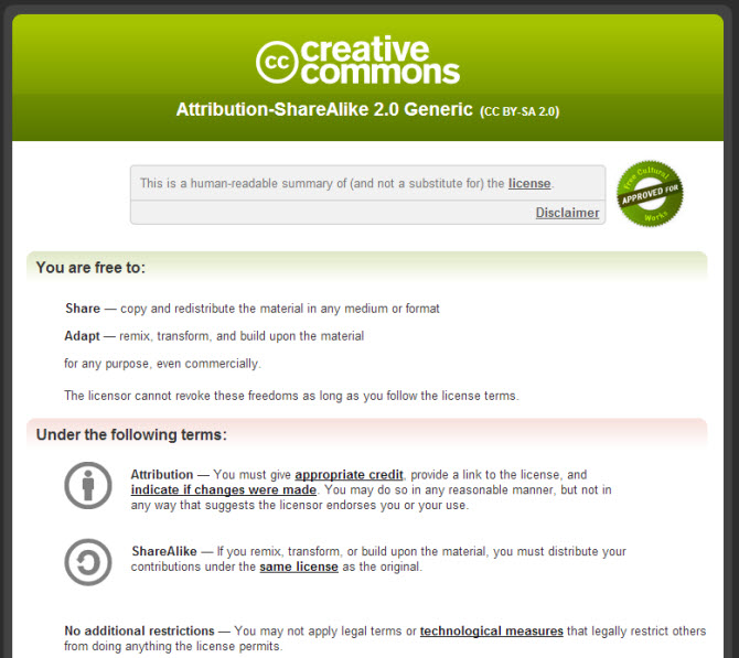 Step 7 Images Copyright And Creative Commons Courses Pd